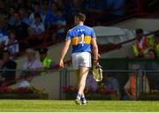 3 June 2018; Michael Cahill of Tipperary leaves the field after being sent off seconds before the half-time break during the Munster GAA Senior Hurling Championship Round 3 match between Waterford and Tipperary at the Gaelic Grounds in Limerick. Photo by Piaras Ó Mídheach/Sportsfile
