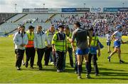 3 June 2018; Waterford selector Dan Shanahan has words with two umpires after the Munster GAA Senior Hurling Championship Round 3 match between Waterford and Tipperary at the Gaelic Grounds in Limerick. Photo by Piaras Ó Mídheach/Sportsfile