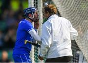 3 June 2018; Waterford goalkeeper Stephen O'Keeffe appeals to the umpire after Austin Gleeson was adjudged to have carried the ball over the line, and a goal was given, during the Munster GAA Senior Hurling Championship Round 3 match between Waterford and Tipperary at the Gaelic Grounds in Limerick. Photo by Piaras Ó Mídheach/Sportsfile