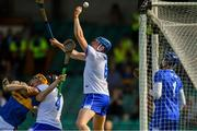 3 June 2018; Austin Gleeson of Waterford catches the ball in the square, the umpires ruled the ball had crossed the line and awarded the goal, during the Munster GAA Senior Hurling Championship Round 3 match between Waterford and Tipperary at the Gaelic Grounds, Limerick. Photo by Piaras Ó Mídheach/Sportsfile