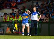 3 June 2018; Tipperary manager Michael Ryan looks on as John O'Dwyer is substituted during the Munster GAA Senior Hurling Championship Round 3 match between Waterford and Tipperary at the Gaelic Grounds in Limerick. Photo by Piaras Ó Mídheach/Sportsfile