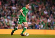 2 June 2018; Declan Rice of Republic of Ireland during the International Friendly match between Republic of Ireland and United States at the Aviva Stadium, Dublin. Photo by Eóin Noonan/Sportsfile