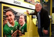 5 June 2018; Celebrating the launch of the new '20 Years' annual exhibition at the GAA Museum is  former Kerry player and GAA Museum Hall of Fame Inductee Jack O'Shea at Croke Park in Dublin. The exhibition traces the key moments in GAA and Croke Park history over the past 20 years since the GAA Museum first opened its doors in 1998. Topics covered include the Croke Park redevelopment, the deletion of Rule 21, the suspension of Rule 42 that paved the way for international rugby and soccer to be played in Croke Park, the Special Olympics World Summer Games in 2003 and the GAA 125 festivities in 2009. The exhibition also serves as the throw-in for the GAA Museum's anniversary programme of events. Details of all the museum's celebratory activities can be found at www.crokepark.ie/gaamuseum.  Photo by Sam Barnes/Sportsfile