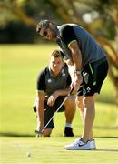 6 June 2018; Rob Kearney during a round of golf on the Ireland rugby squad down day at Lakelands Golf Club on the Gold Coast in Queensland, Australia. Photo by Brendan Moran/Sportsfile