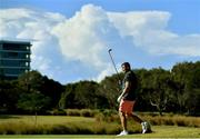 6 June 2018; Jordan Larmour during a round of golf on the Ireland rugby squad down day at Lakelands Golf Club on the Gold Coast in Queensland, Australia. Photo by Brendan Moran/Sportsfile