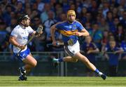 3 June 2018; Séamus Callanan of Tipperary in action against Noel Connors of Waterford during the Munster GAA Senior Hurling Championship Round 3 match between Waterford and Tipperary at the Gaelic Grounds in Limerick. Photo by Piaras Ó Mídheach/Sportsfile