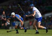 3 June 2018; Patrick Maher of Tipperary in action against Austin Gleeson of Waterford during the Munster GAA Senior Hurling Championship Round 3 match between Waterford and Tipperary at the Gaelic Grounds in Limerick. Photo by Piaras Ó Mídheach/Sportsfile