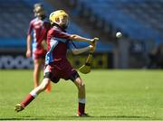 6 June 2018; Conor Newton, grandson of Seán Shanley, Dublin County Board Chairman, playing for St. Fiachra's SNS, Beaumont, against St. Patrick's NS, Diswellstown, in the Corn Marino during Day 2 of the Allianz Cumann na mBunscol finals at Croke Park in Dublin. Photo by Piaras Ó Mídheach/Sportsfile