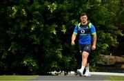 7 June 2018; Andrew Porter arrives for Ireland rugby squad training at Royal Pines Resort in Queensland, Australia. Photo by Brendan Moran/Sportsfile