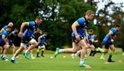 7 June 2018; Dan Leavy, right, during Ireland rugby squad training at Royal Pines Resort in Queensland, Australia. Photo by Brendan Moran/Sportsfile