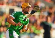 2 June 2018; Tom Morrissey of Limerick during the Munster GAA Hurling Senior Championship Round 3 match between Cork and Limerick at Páirc Uí Chaoimh in Cork. Photo by Piaras Ó Mídheach/Sportsfile