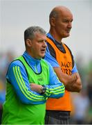 26 May 2018; Roscommon manager Kevin McStay, left, and selector Liam McHale during the Connacht GAA Football Senior Championship semi-final match between Leitrim and Roscommon at Páirc Seán Mac Diarmada in Carrick-on-Shannon, Leitrim. Photo by Piaras Ó Mídheach/Sportsfile