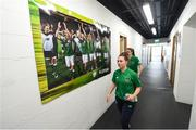 8 June 2018; Aislinn Meaney of Republic of Ireland prior to the 2019 FIFA Women's World Cup Qualifier match between Republic of Ireland and Norway at Tallaght Stadium in Tallaght, Dublin. Photo by Stephen McCarthy/Sportsfile