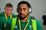 9 June 2018; Bundee Aki of Ireland arrives prior to the 2018 Mitsubishi Estate Ireland Series 1st Test match between Australia and Ireland at Suncorp Stadium, in Brisbane, Australia. Photo by Brendan Moran/Sportsfile