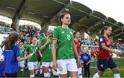 8 June 2018; Leanne Kiernan of Republic of Ireland prior to the 2019 FIFA Women's World Cup Qualifier match between Republic of Ireland and Norway at Tallaght Stadium in Tallaght, Dublin. Photo by Stephen McCarthy/Sportsfile