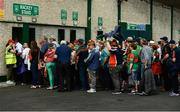 9 June 2018; Supporters make their way through the turnstiles prior to the GAA Football All-Ireland Senior Championship Round 1 match between Limerick and Mayo at the Gaelic Grounds in Limerick. Photo by Diarmuid Greene/Sportsfile