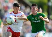 9 June 2018; Richard Donnelly of Tyrone in action against James McEntee of Meath during the GAA Football All-Ireland Senior Championship Round 1 match between Meath and Tyrone at Páirc Táilteann in Navan, Co Meath. Photo by Stephen McCarthy/Sportsfile