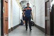 9 June 2018; Armagh manager Kieran McGeeney arrives ahead of the GAA Football All-Ireland Senior Championship Round 1 match between Westmeath and Armagh at TEG Cusack Park in Mullingar, Co. Westmeath. Photo by Ramsey Cardy/Sportsfile