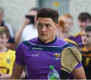 9 June 2018; Lee Chin of Wexford arrives at the ground ahead of the Leinster GAA Hurling Senior Championship Round 5 match between Kilkenny and Wexford at Nowlan Park in Kilkenny. Photo by Daire Brennan/Sportsfile
