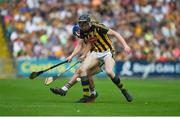 9 June 2018; Walter Walsh of Kilkenny in action against Kevin Foley of Wexford during the Leinster GAA Hurling Senior Championship Round 5 match between Kilkenny and Wexford at Nowlan Park in Kilkenny. Photo by Daire Brennan/Sportsfile