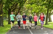 9 June 2018; Just Ask Homework Club members, from left, Lee Grace, Barry O'Brien, Jack Bates, Mo Fitzgerald, Chloe Hanna and Carys O'Connor took part in the Fairview parkrun in partnership with Vhi, on Saturday 9th June as part of the Run For Fun programme, an initiative developed by Irish Youth Foundation and Vhi. Run for Fun has been created by Irish Youth Foundation and Vhi to encourage young people from disadvantaged areas to get involved in running both for fitness and for recreation with an end goal of completing a 5k parkrun. Photo by David Fitzgerald/Sportsfile