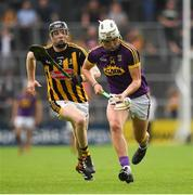 9 June 2018; Rory O'Connor of Wexford in action against Enda Morrissey of Kilkenny  during the Leinster GAA Hurling Senior Championship Round 5 match between Kilkenny and Wexford at Nowlan Park in Kilkenny. Photo by Ray McManus/Sportsfile