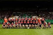 9 June 2018; The Mayo squad prior to the GAA Football All-Ireland Senior Championship Round 1 match between Limerick and Mayo at the Gaelic Grounds in Limerick. Photo by Diarmuid Greene/Sportsfile