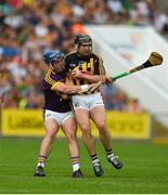 9 June 2018; Richie Hogan of Kilkenny in action against Kevin Foley of Wexford during the Leinster GAA Hurling Senior Championship Round 5 match between Kilkenny and Wexford at Nowlan Park in Kilkenny. Photo by Daire Brennan/Sportsfile