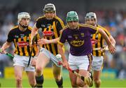 9 June 2018; Shaun Murphy of Wexford in action against Walter Walsh of Kilkenny during the Leinster GAA Hurling Senior Championship Round 5 match between Kilkenny and Wexford at Nowlan Park in Kilkenny. Photo by Ray McManus/Sportsfile