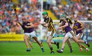 9 June 2018; Joey Holden of Kilkenny in action against Paul Morris of Wexford during the Leinster GAA Hurling Senior Championship Round 5 match between Kilkenny and Wexford at Nowlan Park in Kilkenny. Photo by Daire Brennan/Sportsfile