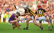 9 June 2018; Jack O'Connor of Wexford in action against Pádraig Walsh of Kilkenny during the Leinster GAA Hurling Senior Championship Round 5 match between Kilkenny and Wexford at Nowlan Park in Kilkenny. Photo by Daire Brennan/Sportsfile