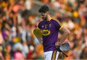 9 June 2018; A dejected Paudie Foley of Wexford after the Leinster GAA Hurling Senior Championship Round 5 match between Kilkenny and Wexford at Nowlan Park in Kilkenny. Photo by Daire Brennan/Sportsfile