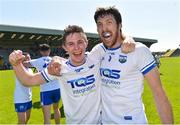 9 June 2018; Waterford players Conor Murray and Tommy Prendergast celebrate after the GAA Football All-Ireland Senior Championship Round 1 match between Wexford and Waterford at Innovate Wexford Park in Wexford. Photo by Matt Browne/Sportsfile