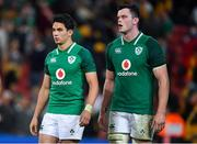9 June 2018; Joey Carbery, left, and James Ryan of Ireland after the 2018 Mitsubishi Estate Ireland Series 1st Test match between Australia and Ireland at Suncorp Stadium, in Brisbane, Australia. Photo by Brendan Moran/Sportsfile