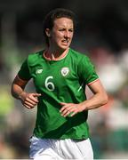8 June 2018; Karen Duggan of Republic of Ireland during the 2019 FIFA Women's World Cup Qualifier match between Republic of Ireland and Norway at Tallaght Stadium in Tallaght, Dublin. Photo by Stephen McCarthy/Sportsfile