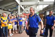 10 June 2018; Tipperary manager Michael Ryan arrives prior to the Munster GAA Hurling Senior Championship Round 4 match between Tipperary and Clare at Semple Stadium in Thurles, Tipperary. Photo by David Fitzgerald/Sportsfile