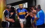 10 June 2018; The Tipperary senior team led by Padraic Maher are applauded by the Tipperary minor team as they take to the pitch prior to the Munster GAA Hurling Senior Championship Round 4 match between Tipperary and Clare at Semple Stadium in Thurles, Tipperary. Photo by David Fitzgerald/Sportsfile