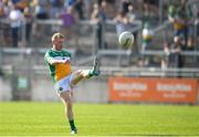 9 June 2018; Niall Darby of Offaly during the GAA Football All-Ireland Senior Championship Round 1 match between Offaly and Antrim at Bord Na Mona O'Connor Park in Tullamore, Offaly. Photo by Sam Barnes/Sportsfile