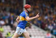 10 June 2018; Billy McCarthy of Tipperary celebrates after scoring his side's first goal during the Munster GAA Hurling Senior Championship Round 4 match between Tipperary and Clare at Semple Stadium in Thurles, Tipperary. Photo by David Fitzgerald/Sportsfile