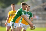 9 June 2018; Johnny Maloney of Offaly during the GAA Football All-Ireland Senior Championship Round 1 match between Offaly and Antrim at Bord Na Mona O'Connor Park in Tullamore, Offaly. Photo by Sam Barnes/Sportsfile