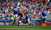 10 June 2018; Seán Murphy of Carlow in action against Gareth Dillon of Laois during the Leinster GAA Football Senior Championship Semi-Final match between Carlow and Laois at Croke Park in Dublin. Photo by Daire Brennan/Sportsfile
