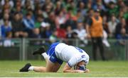 10 June 2018; Austin Gleeson of Waterford after picking up an injury during the Munster GAA Hurling Senior Championship Round 4 match between Limerick and Waterford at the Gaelic Grounds in Limerick. Photo by Ramsey Cardy/Sportsfile