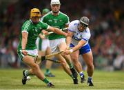 10 June 2018; Noel Connors of Waterford in action against Tom Morrissey of Limerick during the Munster GAA Hurling Senior Championship Round 4 match between Limerick and Waterford at the Gaelic Grounds in Limerick. Photo by Eóin Noonan/Sportsfile