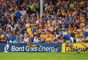 10 June 2018; Conor McGrath of Clare in action against Noel McGrath of Tipperary during the Munster GAA Hurling Senior Championship Round 4 match between Tipperary and Clare at Semple Stadium in Thurles, Tipperary. Photo by Ray McManus/Sportsfile