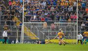 10 June 2018; Goalkeeper Brian Hogan of Tipperary is beaten for a goal by Ian Galvin of Clare during the Munster GAA Hurling Senior Championship Round 4 match between Tipperary and Clare at Semple Stadium in Thurles, Tipperary. Photo by Ray McManus/Sportsfile