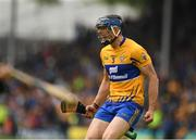 10 June 2018; The Clare full back David McInerney celebrates after the Munster GAA Hurling Senior Championship Round 4 match between Tipperary and Clare at Semple Stadium in Thurles, Tipperary. Photo by Ray McManus/Sportsfile