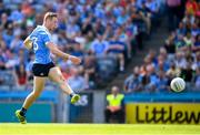 10 June 2018; Paul Mannion of Dublin shoots to score his side's second goal during the Leinster GAA Football Senior Championship Semi-Final match between Dublin and Longford at Croke Park in Dublin. Photo by Stephen McCarthy/Sportsfile