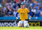 10 June 2018; Longford goalkeeper Paddy Collum after conceeding a second goal during the Leinster GAA Football Senior Championship Semi-Final match between Dublin and Longford at Croke Park in Dublin. Photo by Stephen McCarthy/Sportsfile