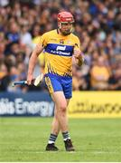 10 June 2018; John Conlon of Clare celebrates after team mate Ian Galvin scored their side's first goal during the Munster GAA Hurling Senior Championship Round 4 match between Tipperary and Clare at Semple Stadium in Thurles, Tipperary. Photo by David Fitzgerald/Sportsfile
