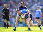 10 June 2018; Paddy Andrews of Dublin in action against Diarmuid Masterson of Longford during the Leinster GAA Football Senior Championship Semi-Final match between Dublin and Longford at Croke Park in Dublin. Photo by Stephen McCarthy/Sportsfile